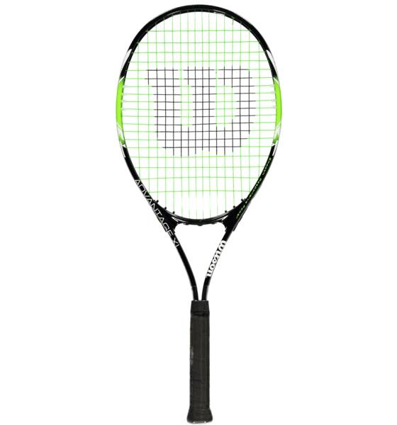 Wilson Mailapelit Wilson So Advantag Xl Alu BLACK/LIGHT GREEN (Sizes: 3)
