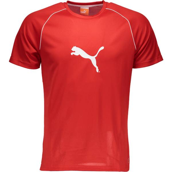 Puma T-paidat Puma So Ringer Jersey M P.RED (Sizes: XS)