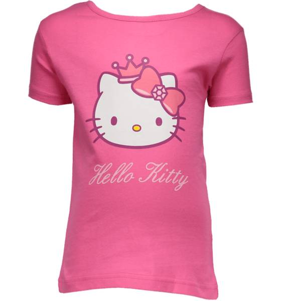 Hello Kitty T-paidat & topit Hello Kitty So Print Tee Jr CERISE (Sizes: 86-92)