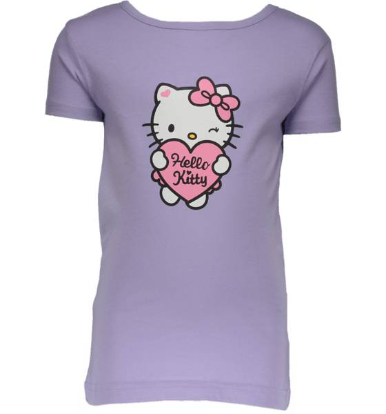 Hello Kitty So Print Tee Jr T-paidat & topit PURPLE (Sizes: 86-92)