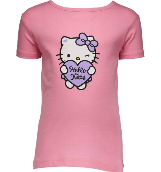 Hello Kitty T-paidat & topit Hello Kitty So Print Tee Jr LIGHT PINK (Sizes: 86-92)