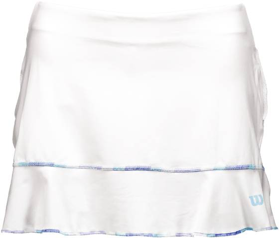Wilson Mekot & hameet Wilson W Lsu Flirty 13.5 Skirt WHITE (Sizes: XS)