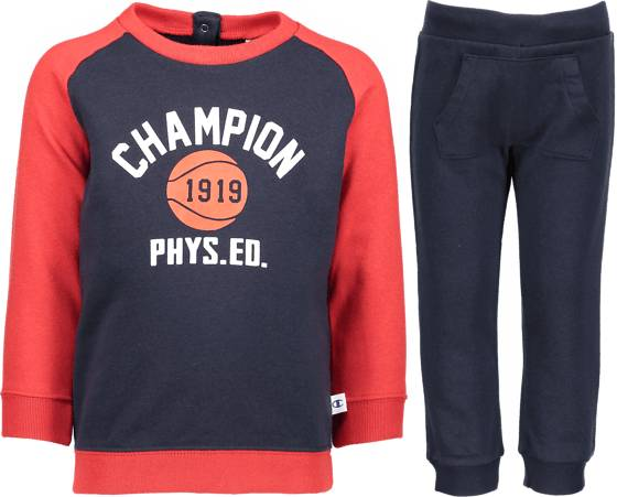 Champion So Crew Zuit Inf Housut & shortsit NNY/NNY/BYR (Sizes: 74)