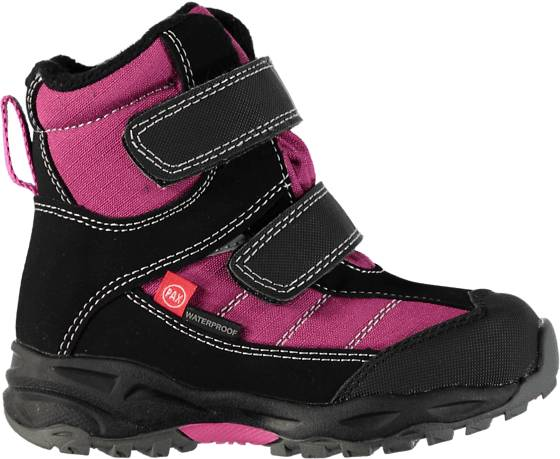 Pax Varsikengät & saappaat Pax So Mount Winter Jr BLACK/PINK (Sizes: 24)