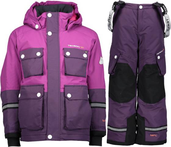 Tenson Takit Tenson So Breezy Set Jr PURPLE (Sizes: 86-92)