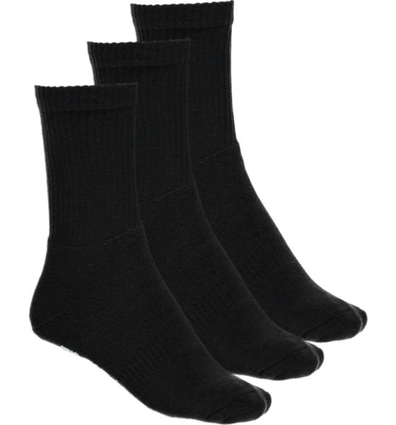 Frank Dandy Alusvaatteet Frank Dandy So 3p Sport Sock U BLACK (Sizes: 36-40)
