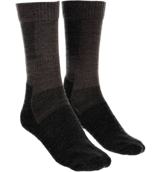 Trekmates Alusvaatteet Trekmates So Outdoor Sock U BROWN/DK GREY (Sizes: 39-42)
