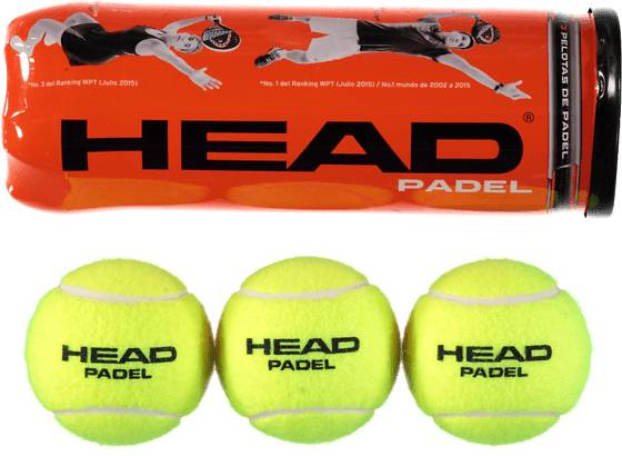Head Mailapelit Head So Padelballs 3b YELLOW (Sizes: No Size)