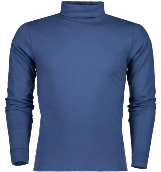 Tribute T-paidat Tribute So Rollneck Ls T M MID BLUE (Sizes: S)