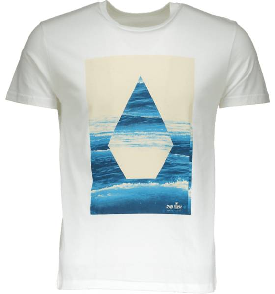Volcom So Summersli Tee M T-paidat WHITE (Sizes: XS)