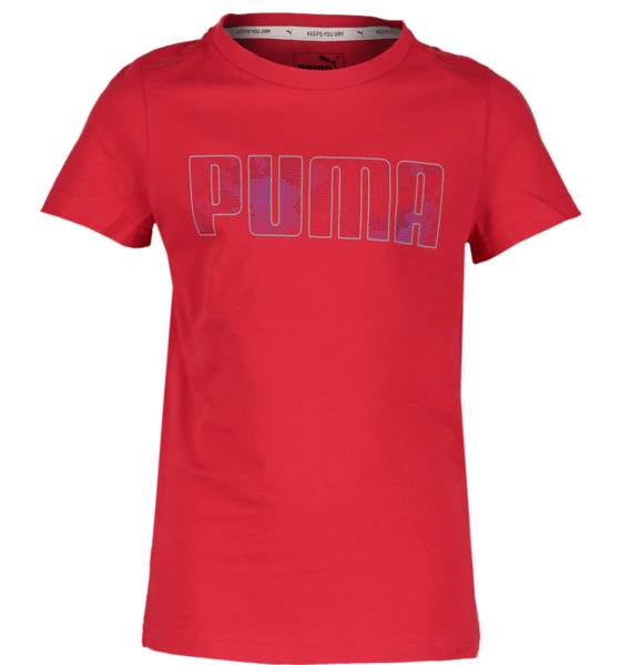 Puma T-paidat & topit Puma So Hero Tee Jr TOREADOR (Sizes: 140)