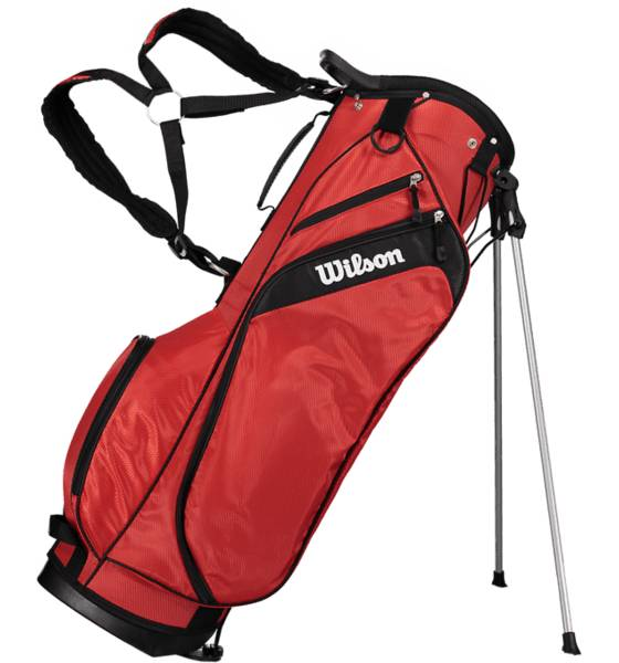 Wilson Golf Wilson So Pro Carry Bag U RED (Sizes: One size)