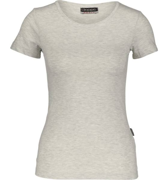 Kappa So Abuk Tee W Topit LIGHT GREY MELANGE (Sizes: M)