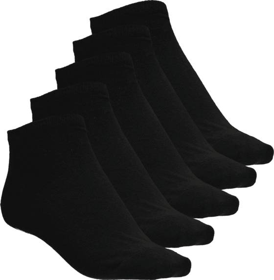 Frank Dandy Alusvaatteet Frank Dandy So 5p Lowcut Sock BLACK (Sizes: 35-38)
