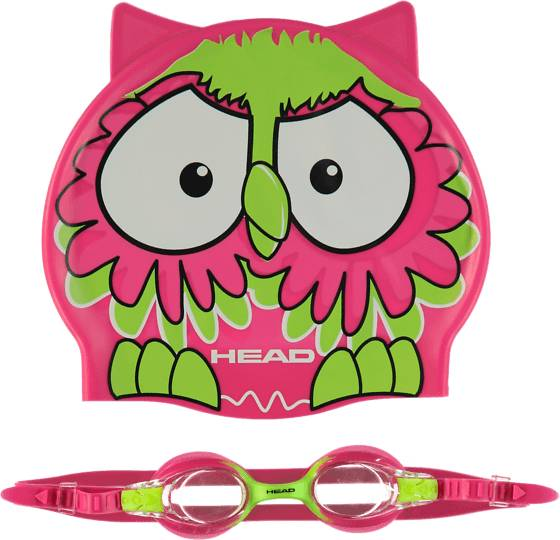 Head Treeni Head So Set Meteor Jr PINK/LIME (Sizes: One size)