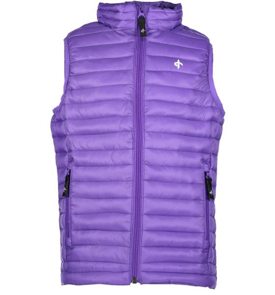 Cross Takit Cross So Lt Padd Vest Jr PASSION PURPLE (Sizes: 130)