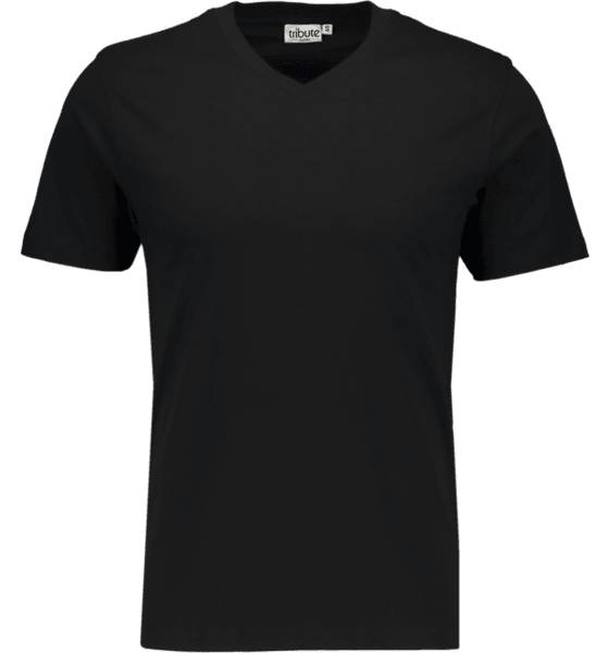 Tribute So Basic V-neck Tm T-paidat BLACK (Sizes: M)