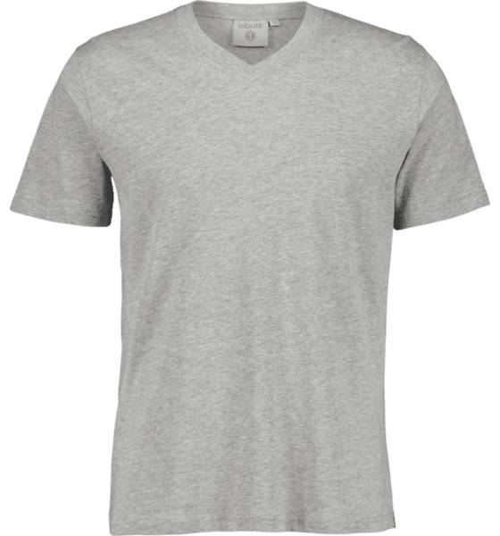 Tribute So Basic V-neck Tm T-paidat GREY MELANGE (Sizes: XL)