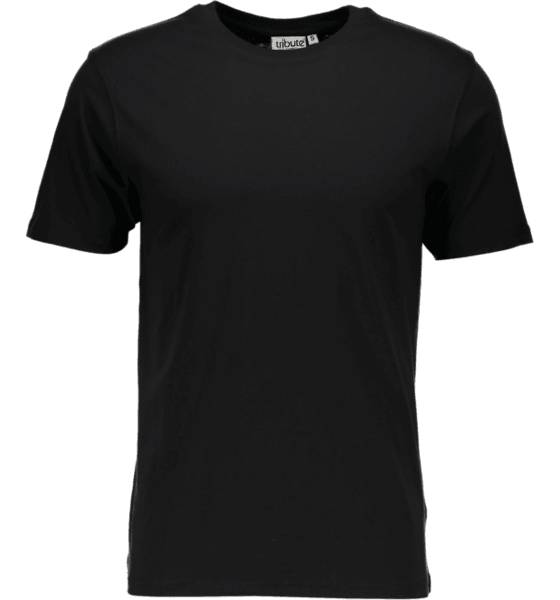 Tribute T-paidat Tribute So Basic Tee M BLACK (Sizes: S)