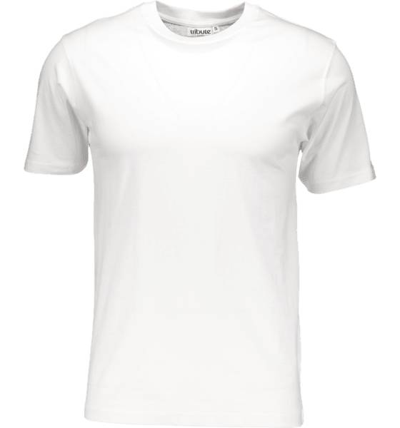 Tribute So Basic Tee M T-paidat WHITE (Sizes: L)