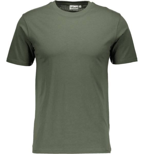 Tribute So Basic Tee M T-paidat KHAKI GREEN (Sizes: S)