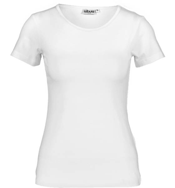 Tribute Topit Tribute So Basic Tee W WHITE (Sizes: S)