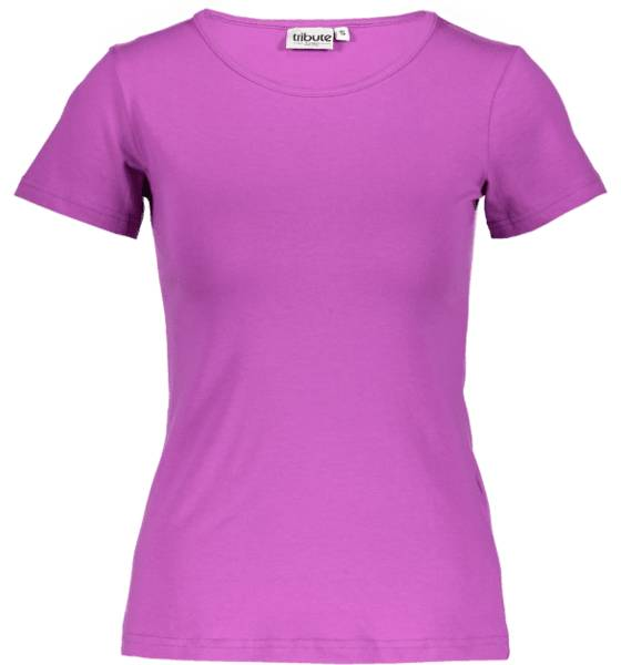 Tribute Topit Tribute So Basic Tee W ORCHIDE (Sizes: M)
