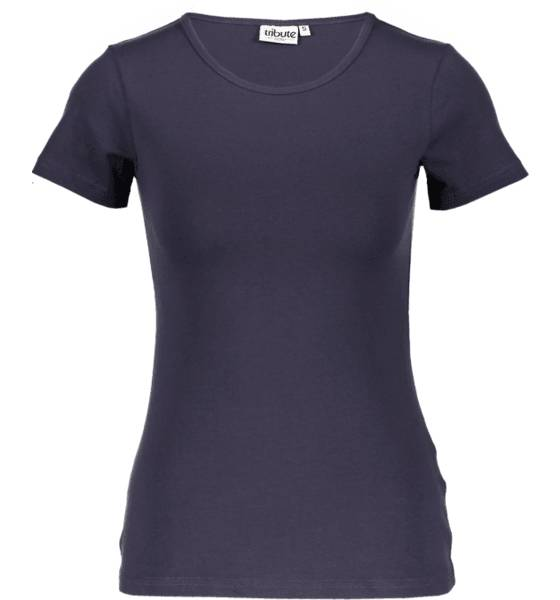 Tribute Topit Tribute So Basic Tee W NAVY (Sizes: XS)