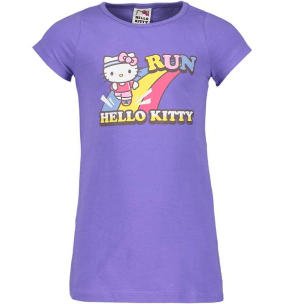 Hello Kitty T-paidat & topit Hello Kitty So Pr Long Tee Jr PURPLE (Sizes: 122-128)