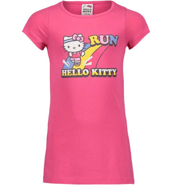 Hello Kitty So Pr Long Tee Jr T-paidat & topit CERISE (Sizes: 110-116)