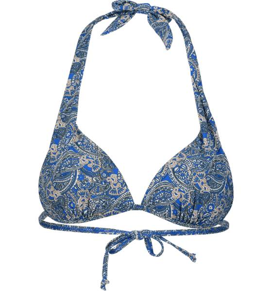 Cross Sportswear So Halter Top Uima-asut BLUE PAISLEY (Sizes: S)