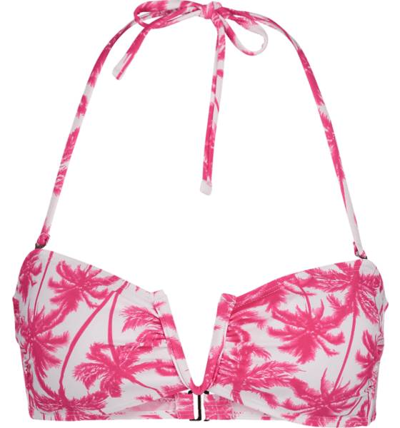 Cross Uima-asut Cross So Bandeau Top PINK PALMS (Sizes: XL)