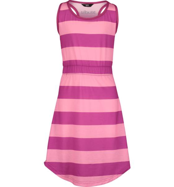 Tribute Mekot & hameet Tribute So Sun Dress Jr PINK STRIPE (Sizes: 140)