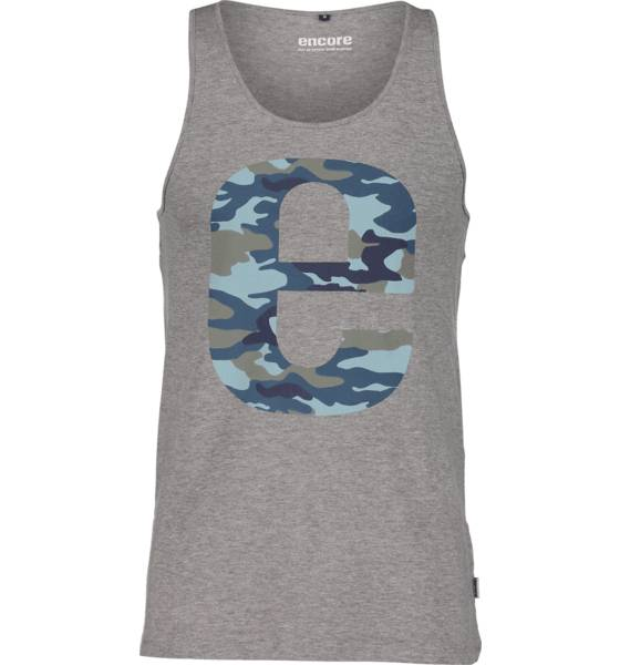 Encore So Owen Tank M T-paidat GREY MELANGE (Sizes: L)