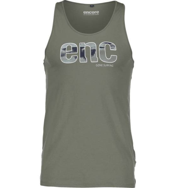 Encore T-paidat Encore So Owen Tank M KHAKI GREEN (Sizes: S)