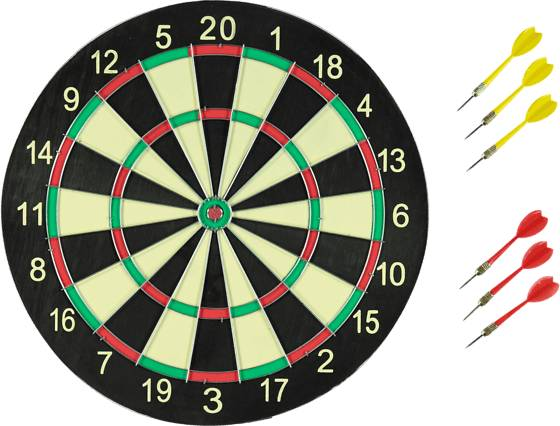 Brand-x So Dart Board Pihapelit BLACK/YELLOW (Sizes: No Size)
