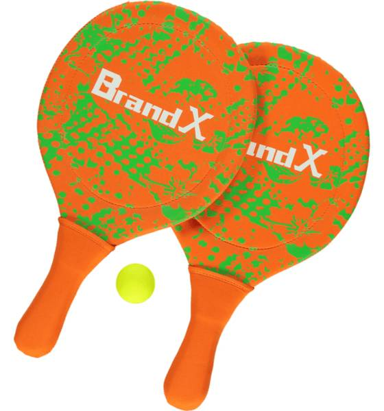 Brand-x So Neopren Beachtennis Pihapelit NEON GREEN/ORANGE (Sizes: One size)