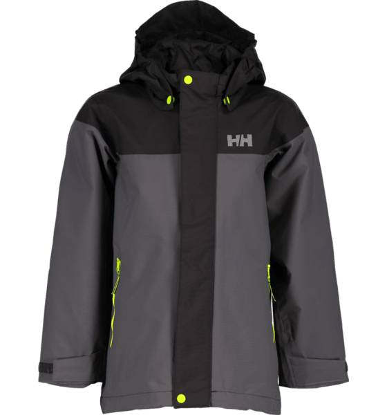Helly Hansen Takit Helly Hansen So Shield Jkt Jr CHARCOAL (Sizes: 104)