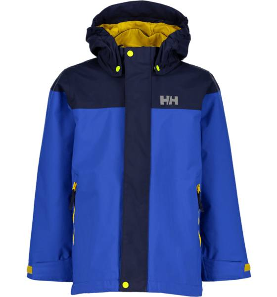 Helly Hansen So Shield Jkt Jr Sadevaatteet OLYMPIAN BLUE (Sizes: 128)
