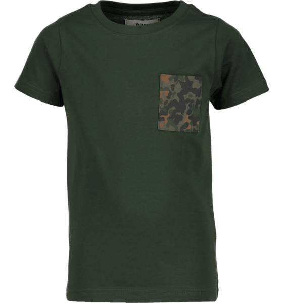 Wesc T-paidat & topit Wesc So Flecktar Tee Jr PINE (Sizes: 140)