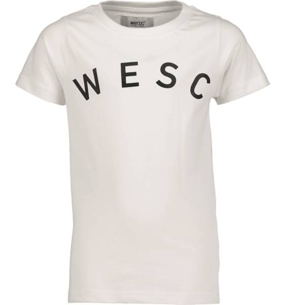 Wesc T-paidat & topit Wesc So Sixtus Tee Jr WHITE (Sizes: 150)