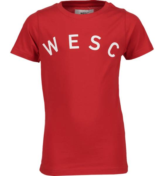 Wesc T-paidat & topit Wesc So Sixtus Tee Jr LAVA RED (Sizes: 160)