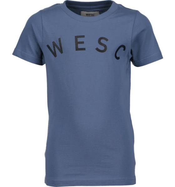 Wesc T-paidat & topit Wesc So Sixtus Tee Jr CORONET BLUE (Sizes: 120)