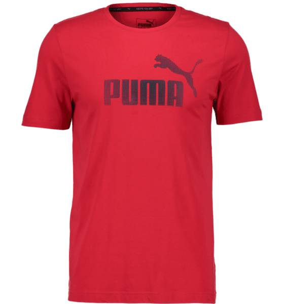 Puma So Core Logo Tee M T-paidat TOREADOR RED (Sizes: S)