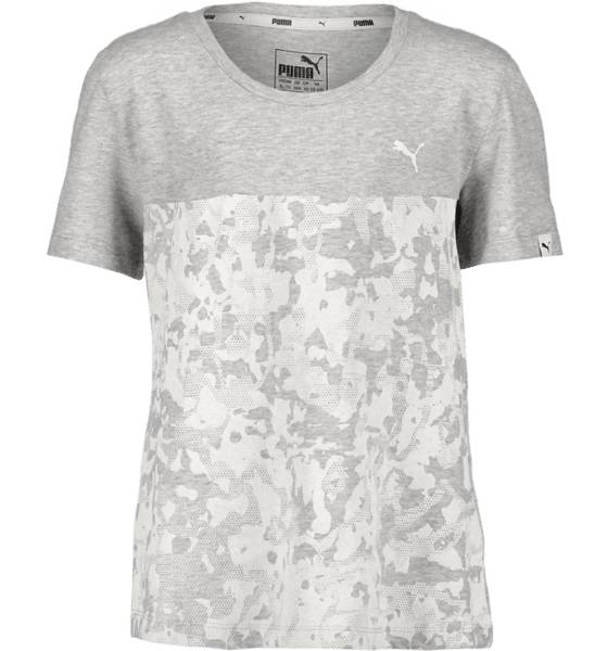 Puma T-paidat & topit Puma So Energ Tee G Jr LT GREY HEATHER (Sizes: 128)