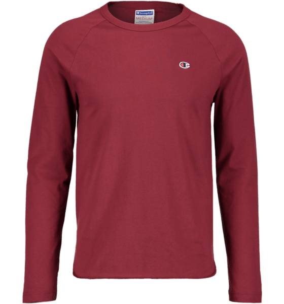 Champion So Jaspe Jers Ls M T-paidat RED (Sizes: L)