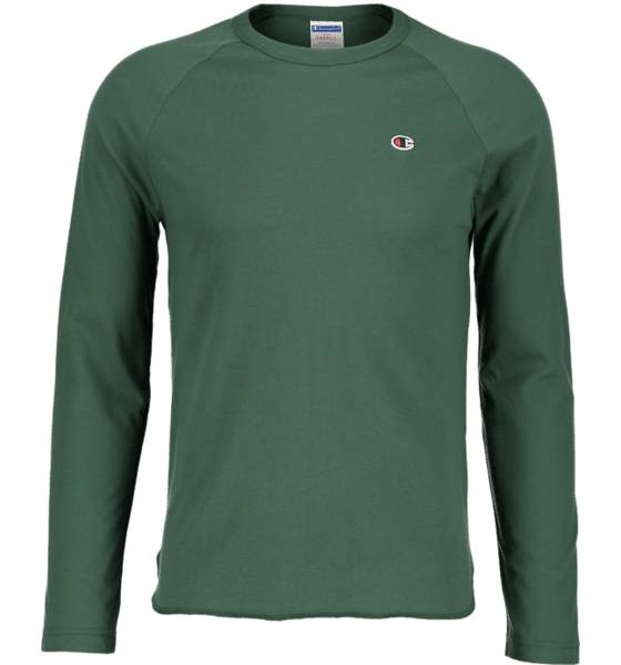 Champion So Jaspe Jers Ls M T-paidat GREEN (Sizes: XL)