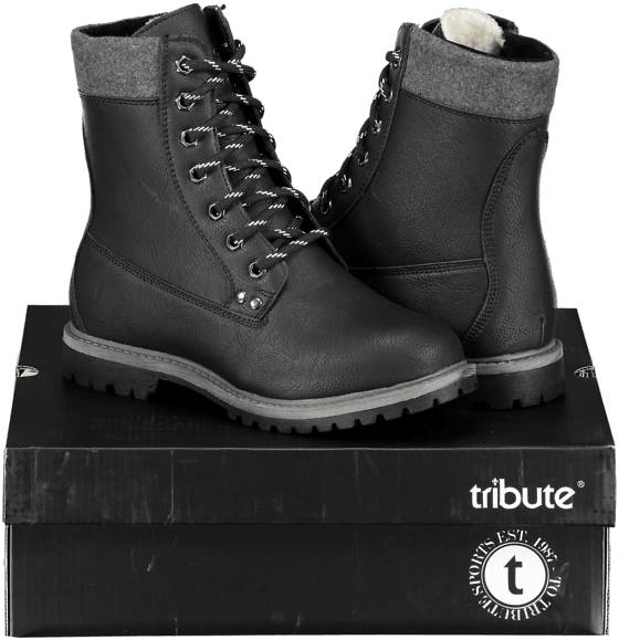 Tribute Varsikengät & saappaat Tribute So Tumble High W BLACK (Sizes: 38)