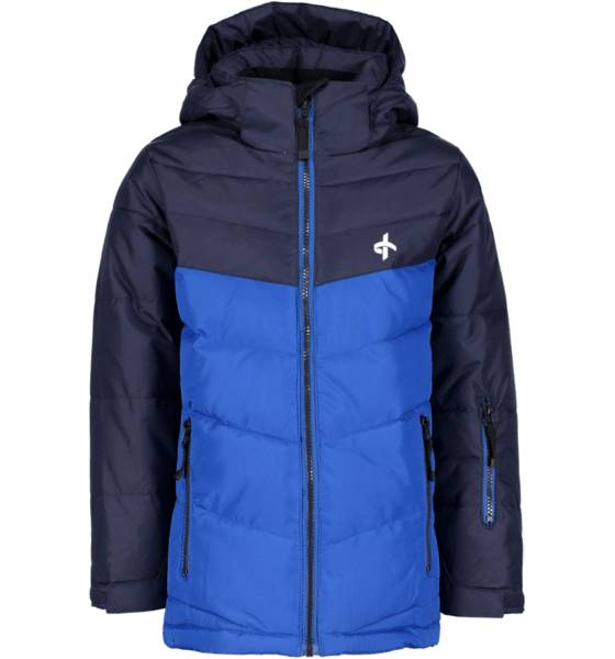 Cross Sportswear Takit Cross Sportswear So Winter Jacket Jr DK NAVY/VICTORIA B (Sizes: 134-140)