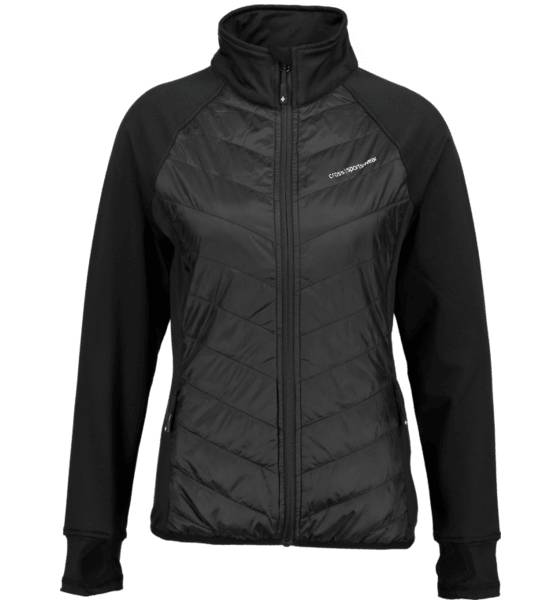 Cross Sportswear So Hybrid Jkt W Yläosat BLACK (Sizes: M)